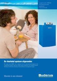 Condenserende gasketel GB202 - Aspeslagh bvba