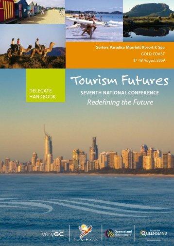 2009 program - Tourism Futures
