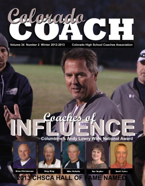 winter 2012-2013 colorado coach - Colorado High School Coaches ...