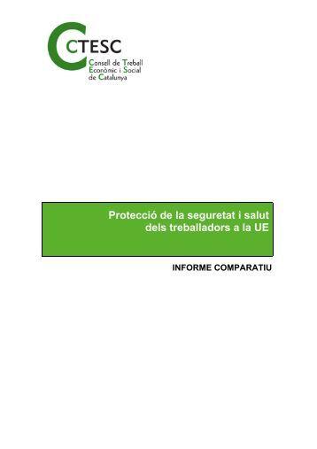 Protecció de la seguretat i salut dels treballadors a la UE - ctesc