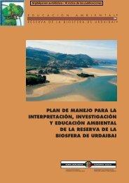 Plan de Manejo para la Interpretación, Investigación y ... - Urdaibai