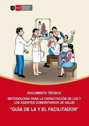 metodología para la capacitación de las y los agentes comunitarios ...