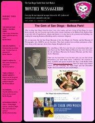 August - The San Diego North Park Craft Mafia!!