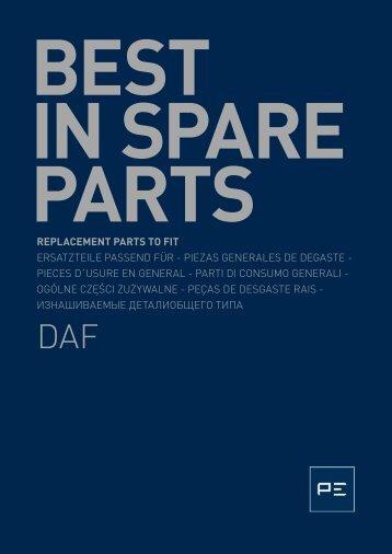 replacement parts to fit ersatzteile passend für ... - OLMOSDON