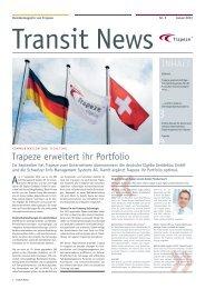 Trapeze erweitert ihr Portfolio - Trapeze Group