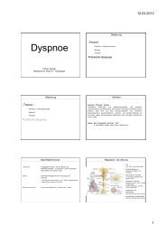 Dyspnoe - FINeST