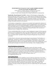 THE RESIDENCES AT KAPALUA BAY NAMES ... - Timbers Resorts