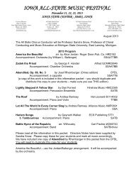 All-State Chorus Directors Information Packet and pronunciation ...