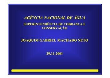 aNA - AGÊNCIA NACIONAL DE ÁGUA - LENHS UFPB