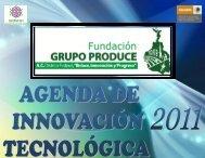 Agenda de Innovación Tecnológica del Distrito Federal - Cofupro