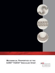 Mechanical Properties Brochure - Gore Medical