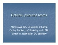 Optically polarized atoms_ch_6.pdf - The Budker Group