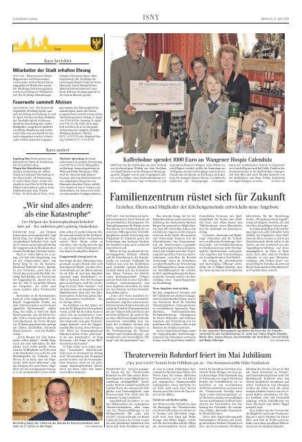 Mitarbeiter der Stadt erhalten Ehrung - Stephanuswerk Isny