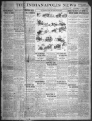 THE INDIANAPOLIS NEWS IN TWO PARTS - IUPUI University Library