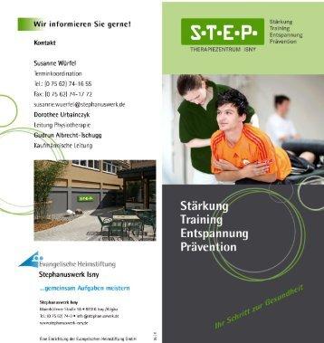 Prospekt STEP - Stephanuswerk Isny
