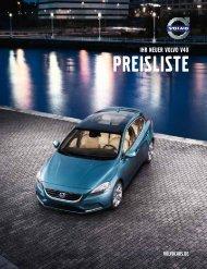 Volvo V40 Preisliste (PDF)