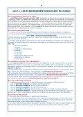 LES ÉTABLISSEMENTS RECEVANT DU PUBLIC (ERP) - Page 2