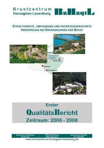 Zeitraum 2006 bis 2008 - Brustzentrum Herzogtum Lauenburg