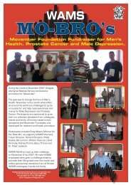 Movember Mo-Bro's - WAMS