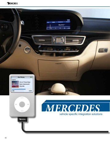 MERCEDES - iPhone Car Adapters