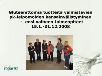 Eeva-Liisa Lehto, kehittämispäällikkö, Foodwest Oy - Sitra