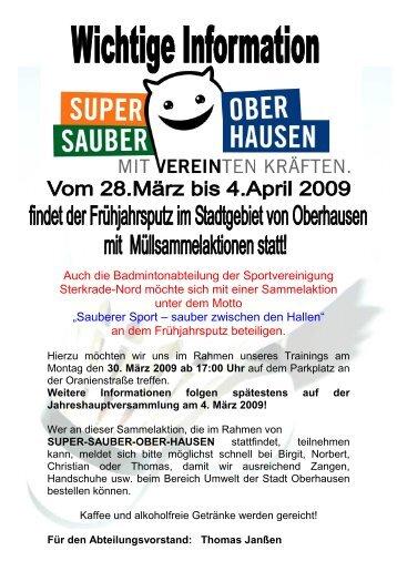 super-sauber-ober-hausen - Spvgg Sterkrade Nord