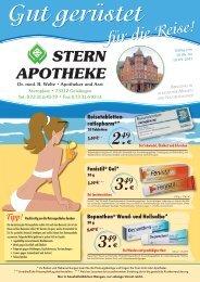 Tipp! - Stern Apotheke Dr. Welte