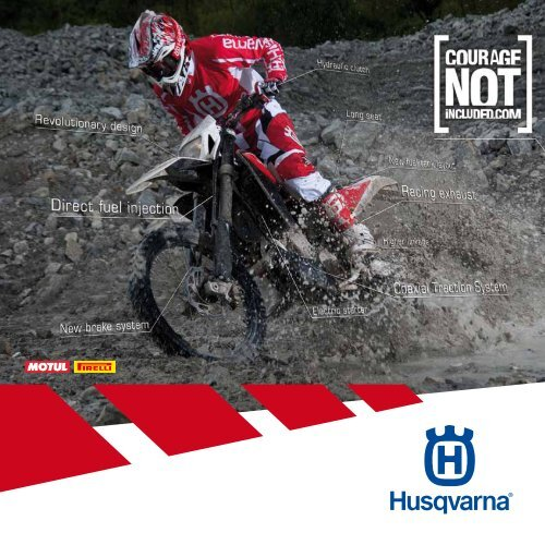CoURAge NoT INcLUDeD - Husqvarna