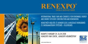 INTERNATIONAL TRADE FAIR AND CONGRESS FOR ...