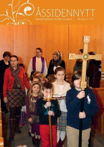 Åssiden Nytt nr.1-2013 - Den norske kirke i Drammen