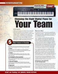 Choosing the Right Digital Piano for Your Team - medialink