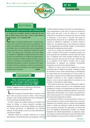 La revue ReMeD n°41