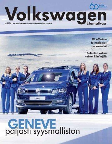 Etumatkaa 1 2010.indd - Volkswagen