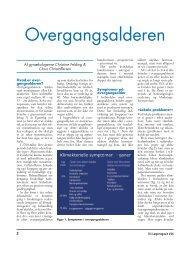 Overgangsalderen - gynækolog christine felding