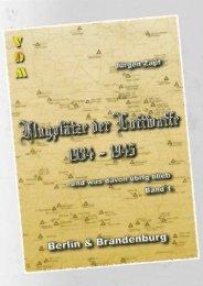 Berlin & Brandenburg - Flugplätze der Luftwaffe 1934 – 1945