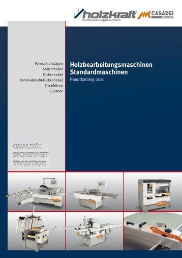 Holzbearbeitungsmaschinen Standardmaschinen