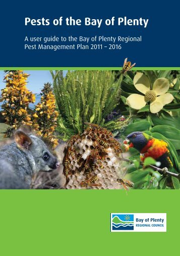 Pests of the Bay of Plenty - Bay of Plenty Regional Council