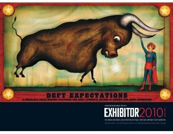 Download the prospectus - Exhibitor Magazine
