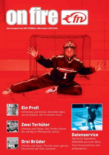 onfire 03/04 (1,2 MB/pdf) - UHC Fireball Nürensdorf