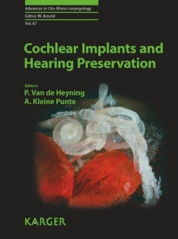 Cochlear Implants and Hearing Preservation