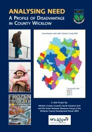 ANALYSING NEED - Wicklow.ie