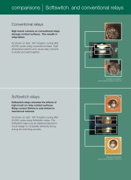 comparisons |Softswitch™ and conventional relays - Lutron