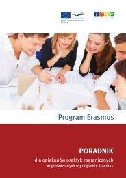 Poradnik dla opiekunów praktyk zagranicznych organizowanych w ...
