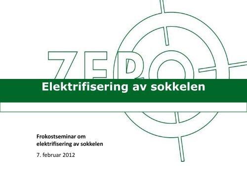 Frokostforedrag Kari Elisabeth - Zero