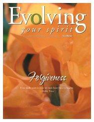 September '06.indd - Evolving Your Spirit