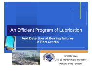 An efficient way of Lubrication and Bearing testing at ... - UE Systems