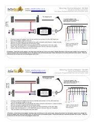 29-640 Citroen Peugeot Fiat Steering control - www.incartec.co.u