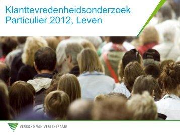 KTO Particulier 2012 Leven