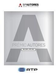 GALA SPA/RTP 2012 PRÉMIO AUTORES Nomeados