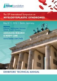 MDS 2013 Technical Manual - Kenes Group